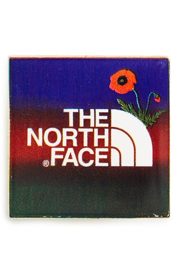 The North Face Enamel Logo Pin - Red
