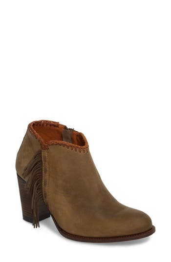 Ariat Sonya Fringed Bootie- Green