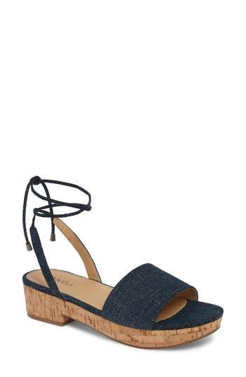 Vaneli Saba Platform Sandal, Blue