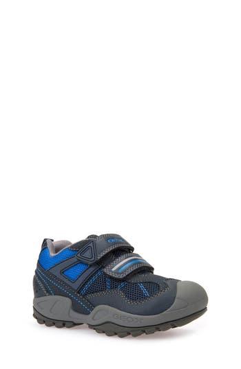 Boys Geox New Savage Sneaker Size 5.5US  38EU  Blue
