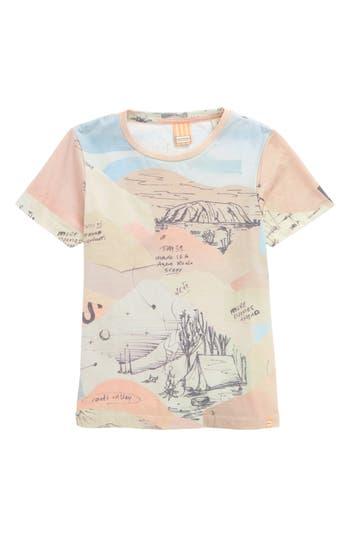 Boy's Scotch Shrunk Allover Print T-Shirt, Size 8 - Pink