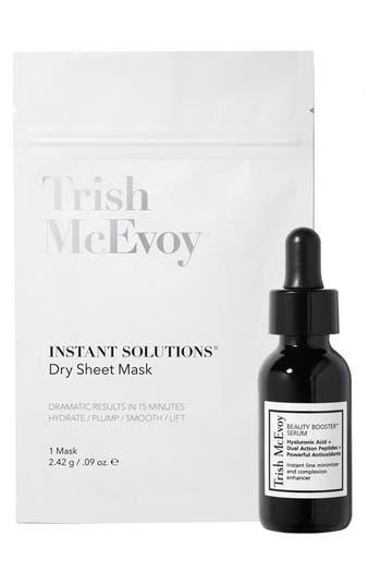 TRISH MCEVOY INSTANT SOLUTIONS DRY SHEET MASK & SERUM DUO