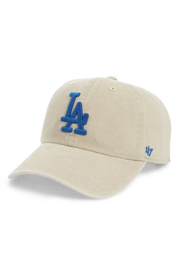 47 female womens 47 portsmouth clean up los angeles dodgers baseball cap beige