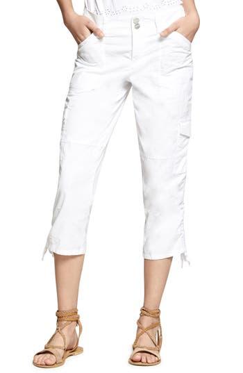 Sanctuary Terrain Crop Cargo Pants, White