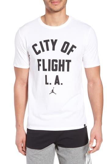 Nike Jordan Sportswear City Of Flight T-Shirt, White