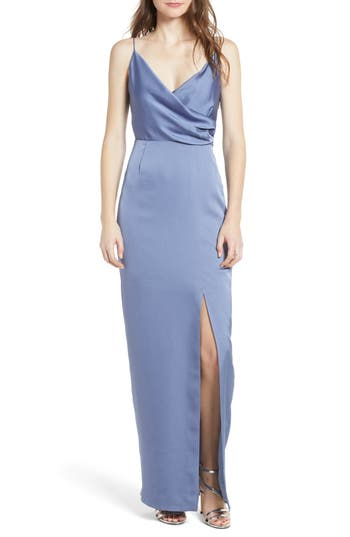 Keepsake The Label This Moment Gown, Blue