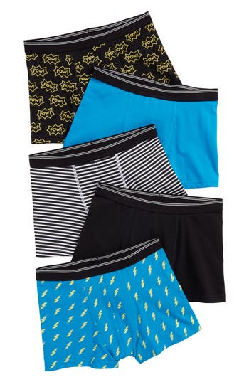 Boys Tucker  Tate 5Pack Trunks Size 1012  None