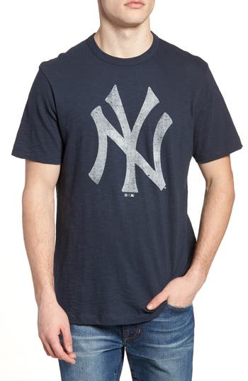 47 Mlb Grit Scrum New York Yankees T-Shirt, Blue