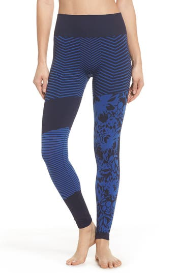 Climawear Cadence High Waist Leggings, Blue