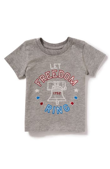 Infant Girls Peek Let Freedom Ring TShirt