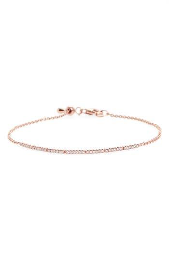 Bony Levy Aviva Adjustable Diamond Bar Bracelet