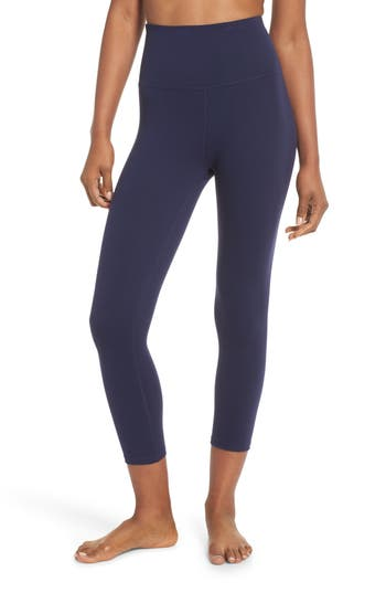 Beyond Yoga High Waist Capri Leggings, Blue