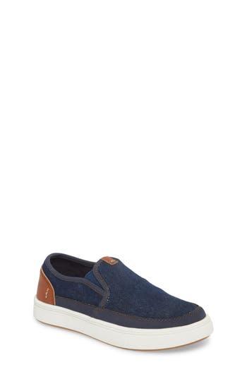 Boys Steve Madden Bfoleeo SlipOn Sneaker Size 5 M  Blue