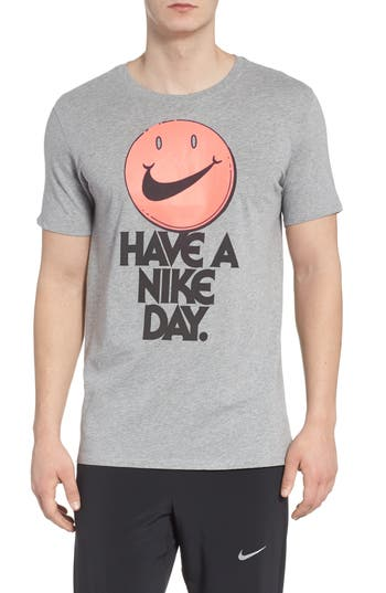 Nike Concept Graphic T-Shirt, Grey