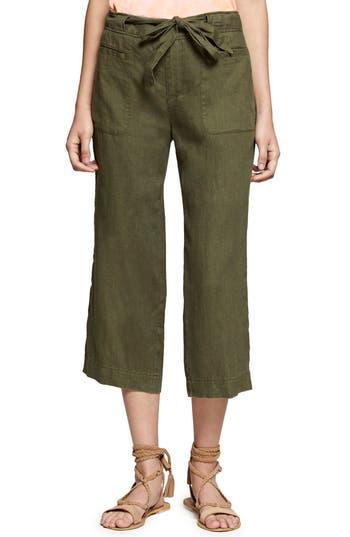 Sanctuary Sasha Crop Cargo Pants, Green