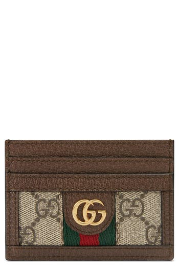 Gucci Ophidia GG Supreme Card Case
