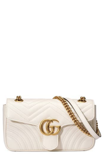 Gucci Small GG Marmont 2.0 Matelassé Leather Shoulder Bag