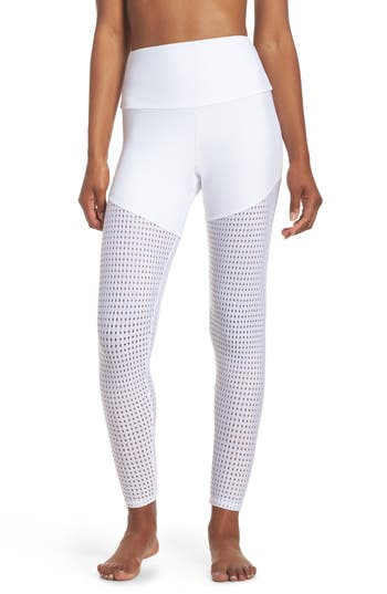 Onzie Half/half 2.0 Leggings, White