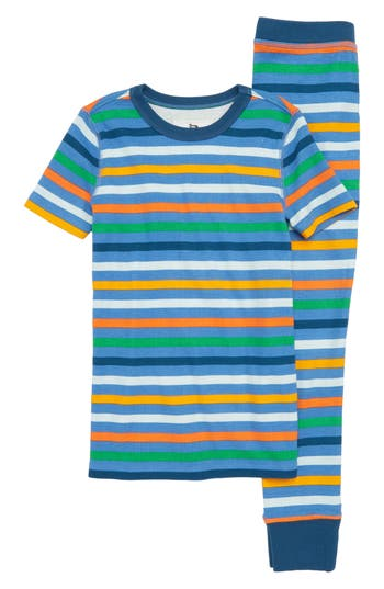 Toddler Boys Crewcuts By Jcrew Stripe Fitted TwoPiece Pajamas