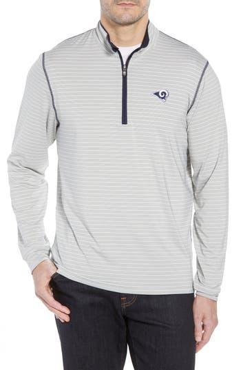 Cutter & Buck Los Angeles Rams - Meridian Half Zip Pullover