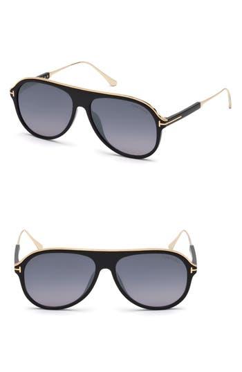 Tom Ford Nicholai-02 57mm Sunglasses