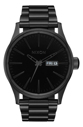 Nixon The Sentry Bracelet Watch, 42mm