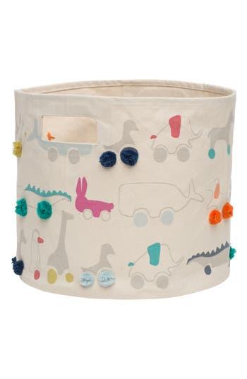Infant Petit Pehr Pull Toys Canvas Bin