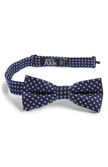 Boys Nordstrom Stella Americana Silk Bow Tie Size Big Boy  Blue