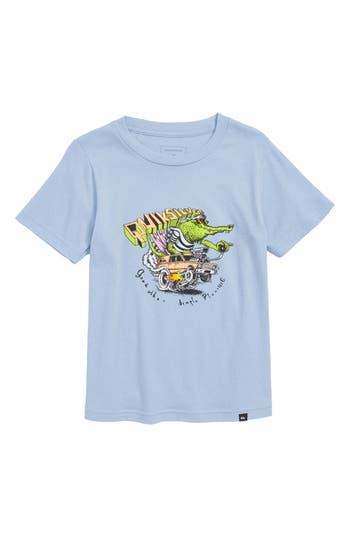 Boys Quiksilver Crocodile Farwest Graphic TShirt