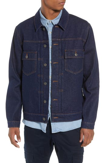 Topman Raw Denim Jacket