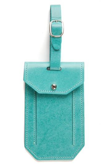 Moore & Giles Leather Luggage Tag