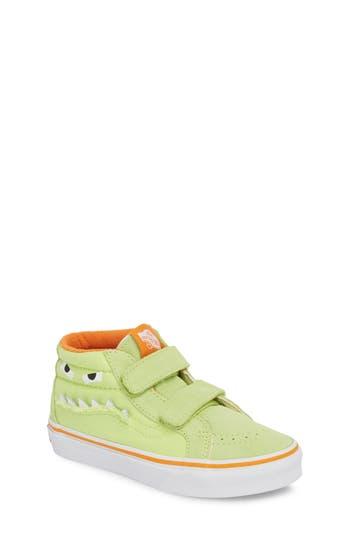 Boys Vans Sk8Mid Reissue V Sneaker Size 6 M  Green