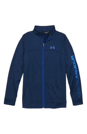Boys Under Armour Pennant Warm Up Jacket