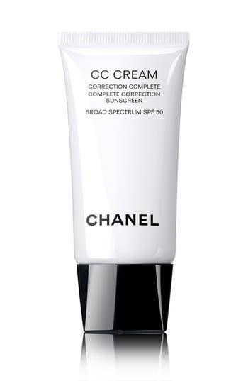Chanel Cc Cream Complete Correction Sunscreen Broad Spectrum Spf 50 - 20 Beige