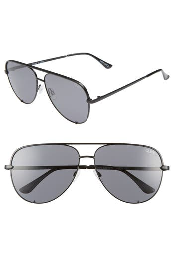 Quay Australia x Desi Perkins High Key 62mm Aviator Sunglasses