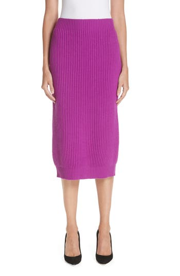 MARC JACOBS Wool & Cashmere Pencil Skirt