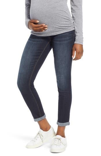 1822 Denim Roll Cuff Maternity Skinny Jeans