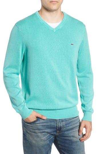 vineyard vines Cotton & Cashmere V-Neck Sweater