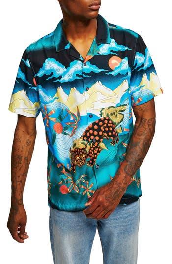 Topman Foo Dog Classic Fit Shirt