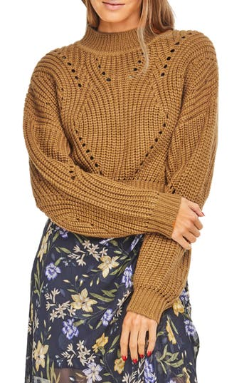 ASTR CARLY CROP SWEATER