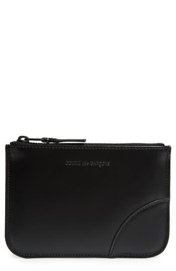 Comme des Garçons Very Black Leather Line Wallet