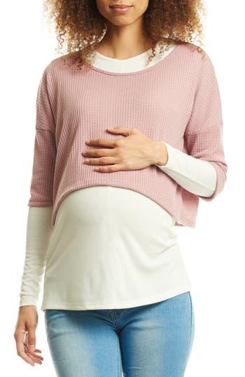 Everly Grey Tina Maternity/Nursing Top