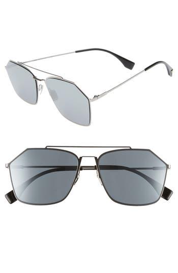 Fendi 59mm Navigator Sunglasses