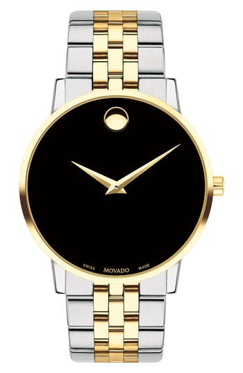 Movado Bracelet Watch, 40mm