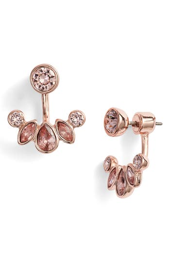 Givenchy Pear Crystal Floater Earrings