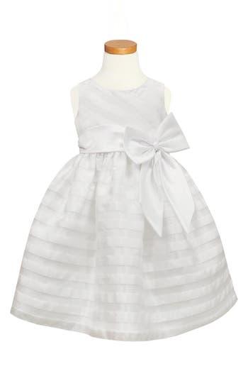 Girl's Sorbet Stripe Organza Dress