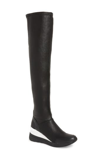 MICHAEL Michael Kors Tipton Wedge Over the Knee Rain Boot