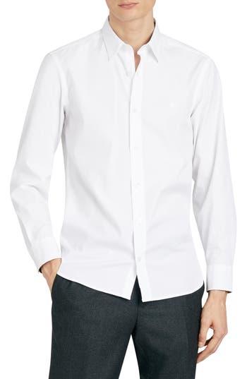 Burberry William Stretch Solid Sport Shirt