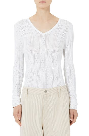 MARC JACOBS Redux Grunge Pointelle Sweater