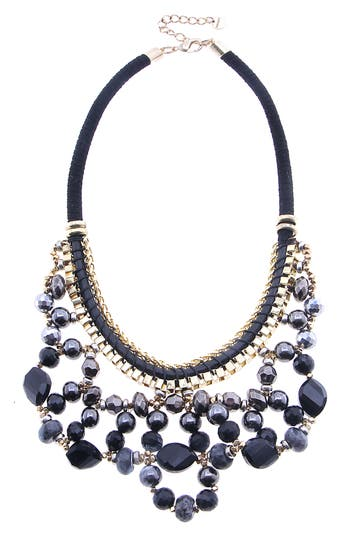 Nakamol Design Crystal Loop Necklace